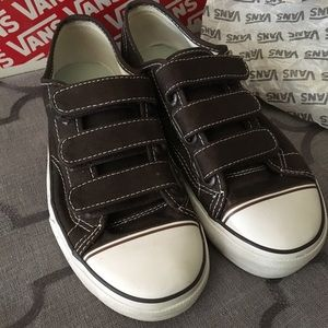 ec84268eab Vans Shoes - Vintage Prison Issue 23 Velcro Vans
